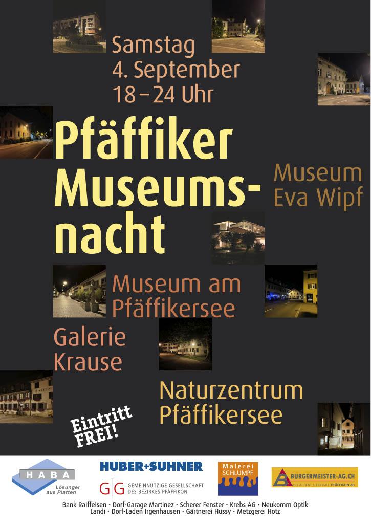 Pfäffiker Museumsnacht 2021